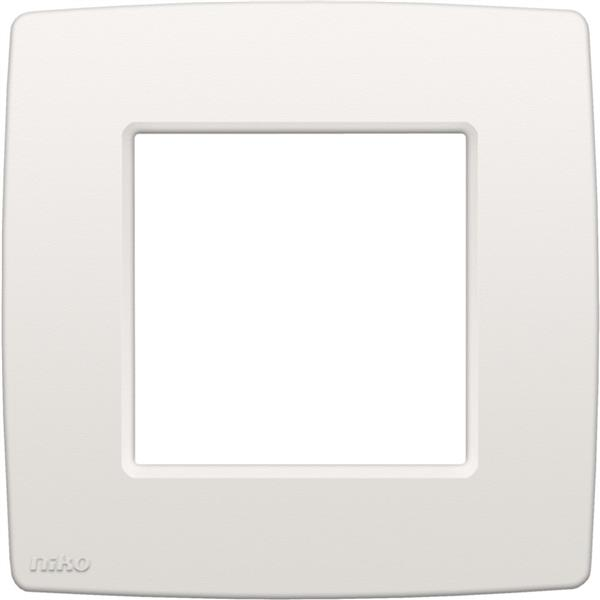 NIKO - Plaque de recouvrement (60mm) simple, blanc