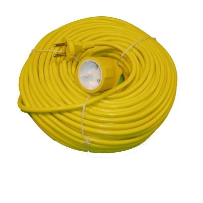 BLOCS MULTIPRISE + CORDONS - Rallonge 40m 3G1,5 jaune