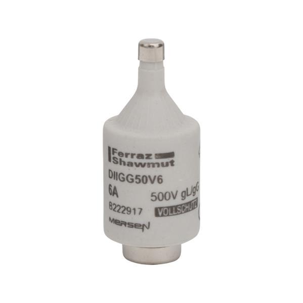 Mersen - Diazed fusible DII E27 6A retardé 500V vert