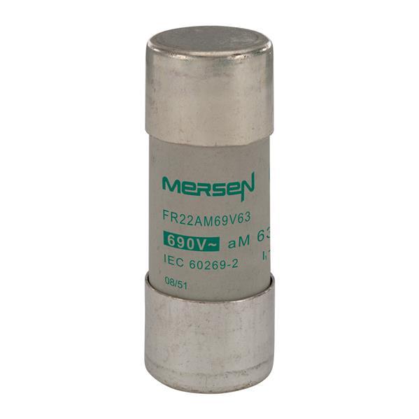 Mersen - Cylindrische zekering FR 22x58 aM 63A 690V