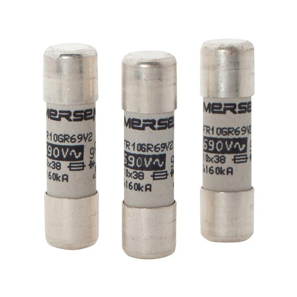 Mersen - Fusible cylindrique gG 16A 10x38mm 500V sans voyant