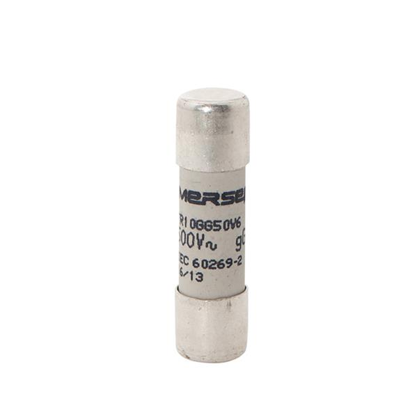 Mersen - Fusible cylindrique gG 6A 10x38mm 500V sans voyant