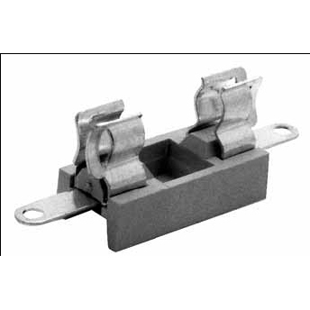 Mersen - Porte-fusible SI PTF 20 6,3A 250V 5x20mm - fixation à vis (anti-rotation)