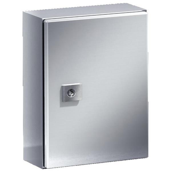 RITTAL - Armoire compacte acier inoxydable, avec plaque de montage