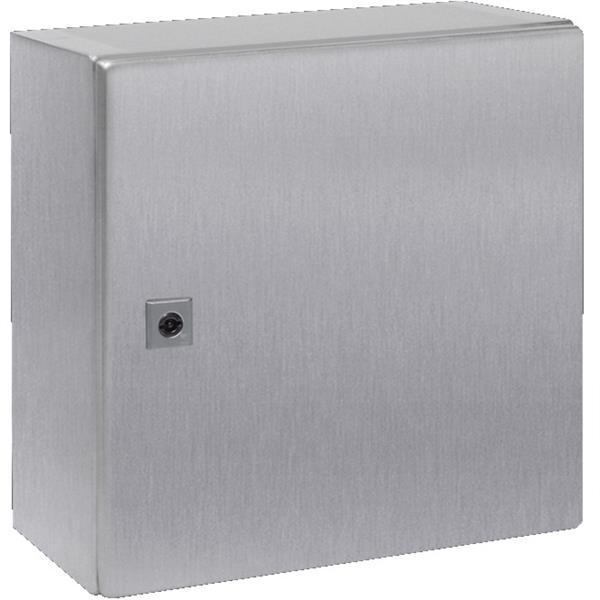 RITTAL - Armoire compacte acier inoxydable, avec plaque de montage 380x380x210mm
