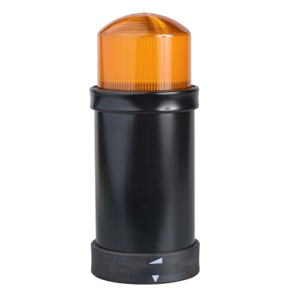 TELEMECANIQUE - Élément 5 J orange XVB - tube flash - 24V AC DC