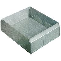 BTICINO - Boîte de sol Interlink galvanisée métal (pour chape) pour boîtes 150563/150564