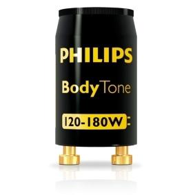 PHILIPS - BodyTone St 120-180W UNP starter zonnebanklamp zwart
