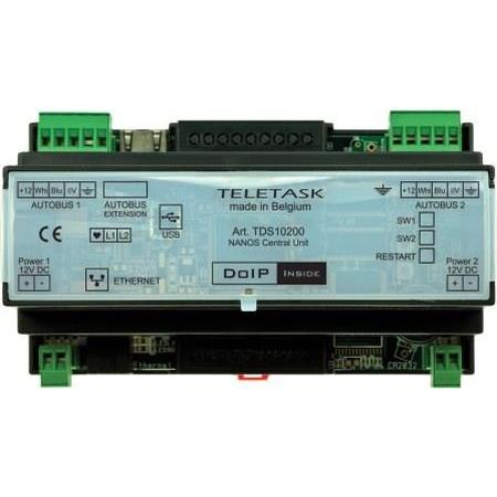 Teletask - Unité centrale Nanos sur rail DIN
