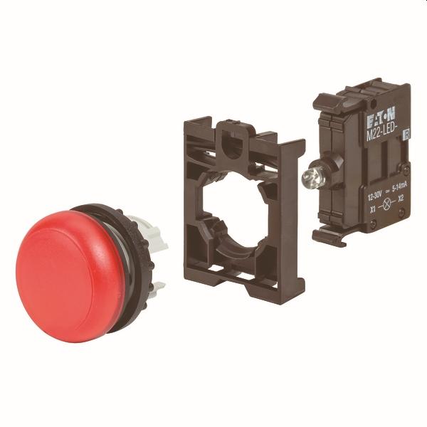 MOELLER - lampe de signalisation   élement de front RMQ-Titan M22-L-R-LED-BVP