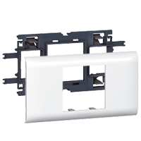 LEGRAND - Support Mosaic DLP 2 modules couvercle 65mm