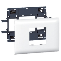 LEGRAND - Support Mosaic DLP 2 modules couvercle 85mm