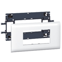 LEGRAND - Support Mosaic DLP 4 modules couvercle 85mm