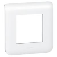 LEGRAND - Mosaic afdekplaat voor 2 modules - wit
