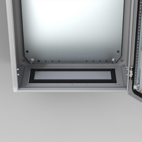 ELDON - Flasque de ventilation avec filtre210x96