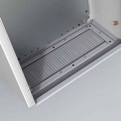 ELDON - Flasque de ventilation avec grille 310x96