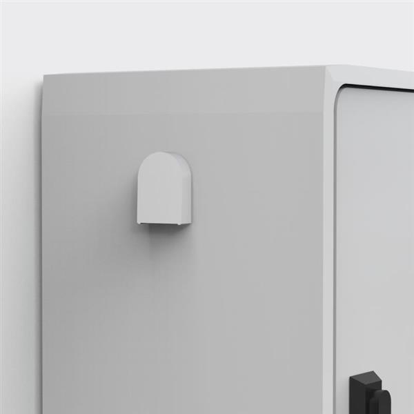 ELDON - grille ventilation uniplast IP44 (2 pcs.)