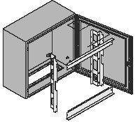 ELDON - Kit vertical pour montage modulaire 600x600