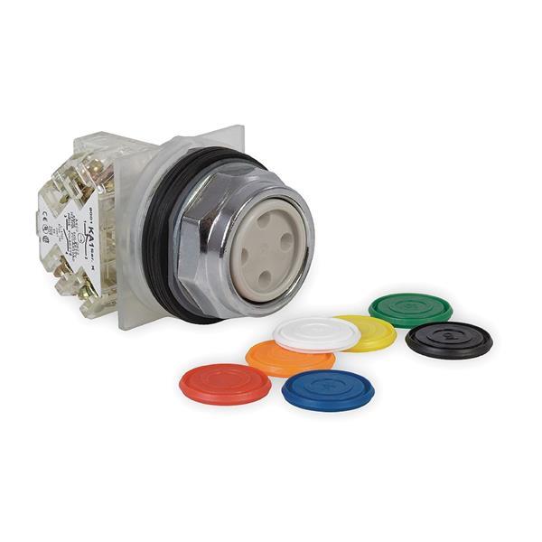 TELEMECANIQUE - bouton-poussoir choix de 7 couleurs Ø 30 - à impulsion affleurant - 1OF