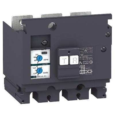 MERLIN GERIN - Bloc différentiel MH 4P 200-440V CA sensibilité 0,03-10A pour Compact NSX100/16