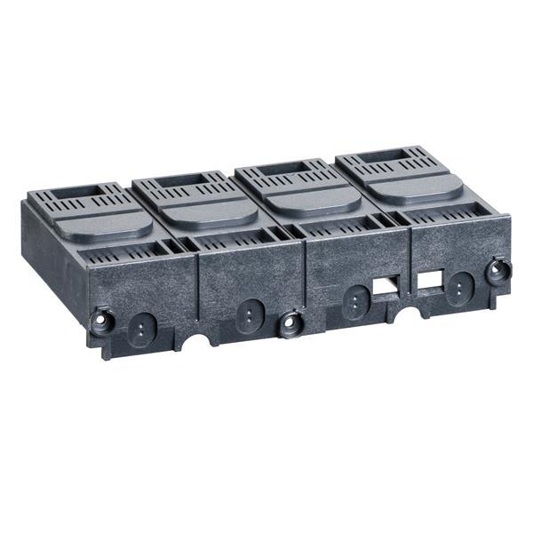 MERLIN GERIN - 1 cache bornes court 4P pour Compact NSX100-250F/N/H/S/L - Interpact INV/INS