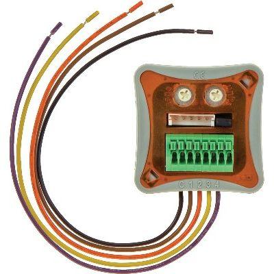 Teletask - Interface d'entrée miniature encastré, 4 entrées, LED+IR