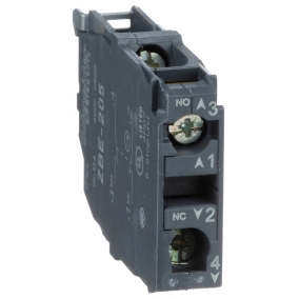 TELEMECANIQUE - Bloc contact pour bouton - ZBE Ø22 - 1O+1F