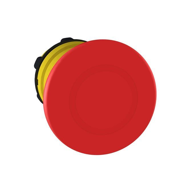 TELEMECANIQUE - tête pour Arrêt d'urgence Ø 40 - pousser-tirer - Ø 22  - rouge