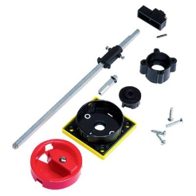 VYNCKIER - ASTER bedieningsgreep IP65 rood/geel met verlengas 238 mm