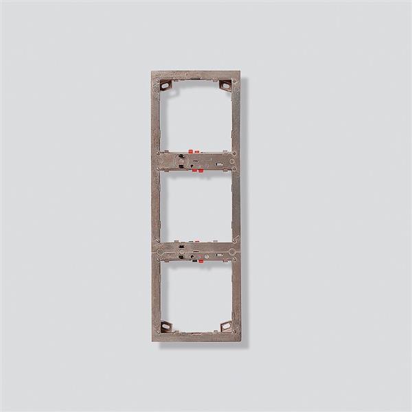 SIEDLE - Cadre de montage pour 3 modules