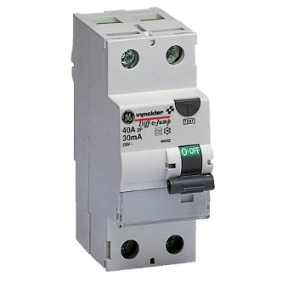 VYNCKIER - Diff-o-Jump interrupteur différentiel type A 2P 63A 30mA