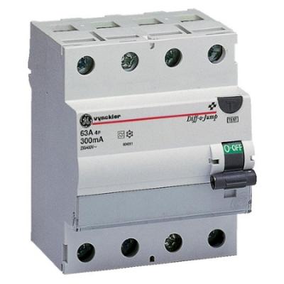 VYNCKIER - Diff-o-Jump interrupteur différentiel type A 4P 63A 300mA