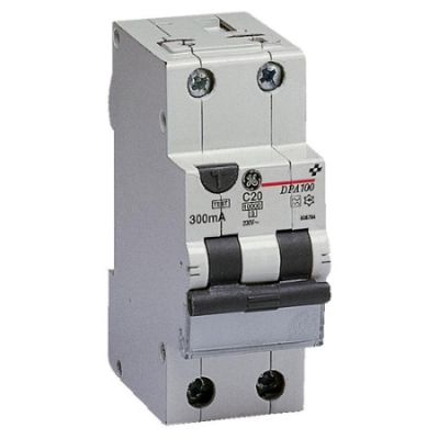 VYNCKIER - DP100 differentieelautomaat type A 1P+N 20A C 300mA