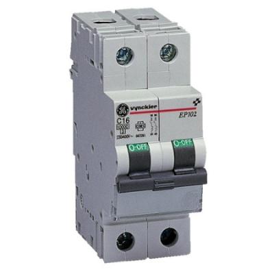 VYNCKIER - EP100 automatische schakelaar 10kA 2P C 6A