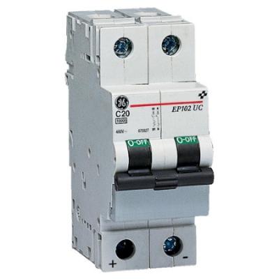 VYNCKIER - EP100 automatische schakelaar voor gelijkspanning 10kA 2P C 10A