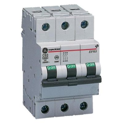 VYNCKIER - EP100 automatische schakelaar 10kA 3P C 2A