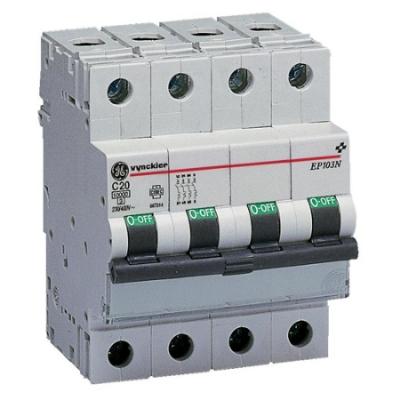 VYNCKIER - EP100 automatische schakelaar 10kA 3P+N C 25A