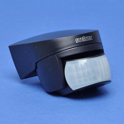 Steinel - Bewegingsmelder, detectiehoek 140°, bereik 14m, zwart