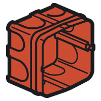 LEGRAND - Boîte maçonn. 1 poste 85x85mm pr prises 20+32A prof. 50mm