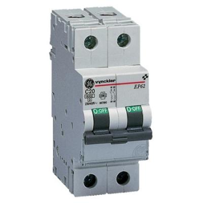 VYNCKIER - EP60 automatische schakelaar 6kA 2P C 25A