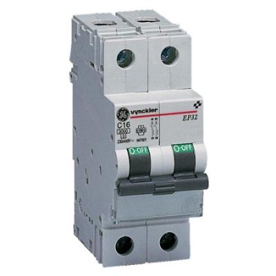 VYNCKIER - EP30 automatische schakelaar 3kA 2P C 16A
