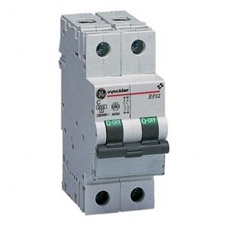 VYNCKIER - EP30 automatische schakelaar 3kA 2P C 20A