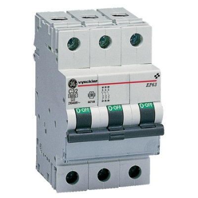VYNCKIER - EP60 automatische schakelaar 6kA 3P C 25A