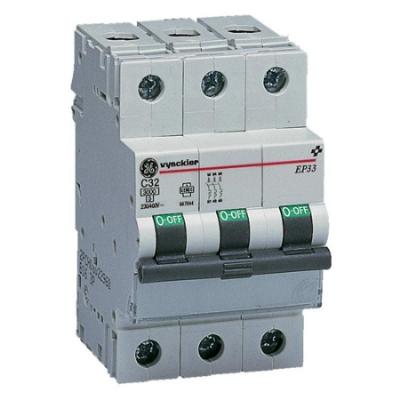 VYNCKIER - EP30 automatische schakelaar 3kA 3P C 32A