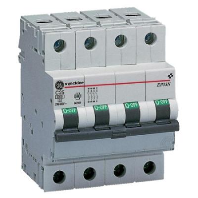 VYNCKIER - EP30 disjoncteur 3kA 3P+N C 25A