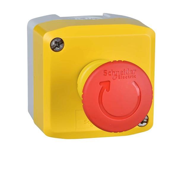 TELEMECANIQUE - boîte à boutons XAL-K - fonction Arrêt d'urgence - 1 O + 1 F