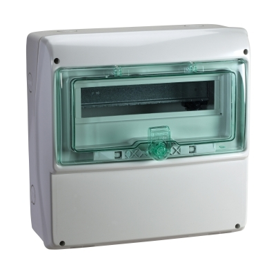 MERLIN GERIN - coffret Kaedra - polyvalent face lisse - 340 x 335 mm - 13 modules