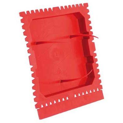 Alg.instal.toebehoren - beschermdeksel 60/71mm vr.pleisterwerken