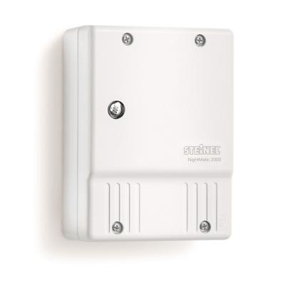 Steinel - Interrupteur crépusculaire, règlage 2-10 lux, IP54, 230V, blanc