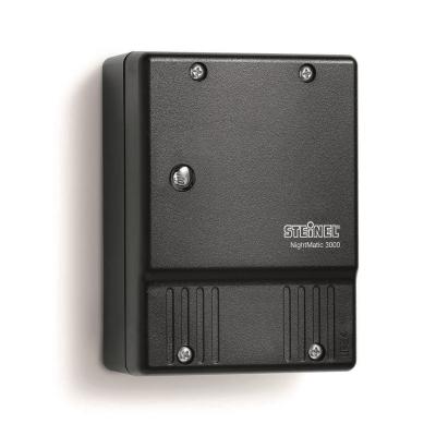 Steinel - Interrupteur crépusculaire, règlage 0,5-10 lux, IP54, 230V, noir
